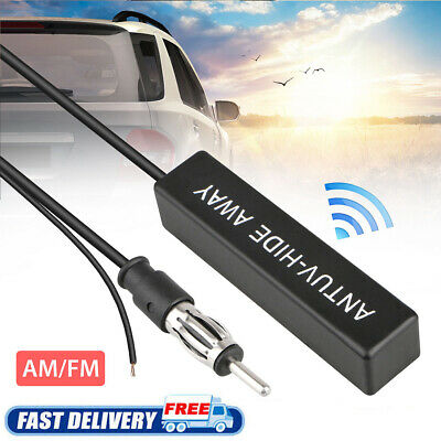 Hidden Antenna Radio Stereo AM FM Stealth for Vehicle Car Truck Motorcycle Boat