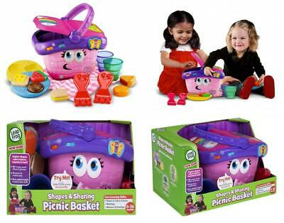 Leapfrog Shapes And Sharing Picnic Basket 33 63 Picclick