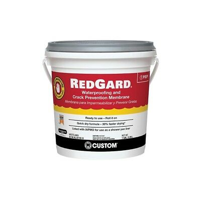 Redgard Waterproofing and Crack Prevention Membrane, 1 Gallon