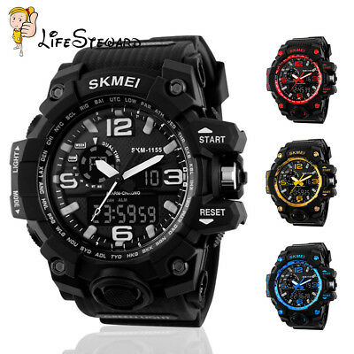 Skmei Men's Sports Watch LED Digital Waterproof Military Casual Wrist watch