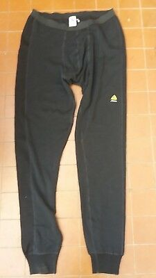 Aclima Warmwool Mens Merino Wool Base Layer Pants Size XXXL Black NWOT