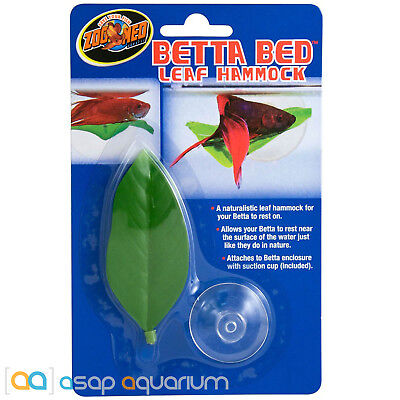 Zoo Med Betta Bed Leaf Hammock FAST FREE USA SHIPPING