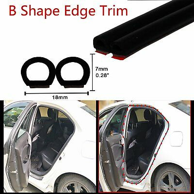 5.5M Hollow Seals Car Truck Door Engine Cover Rubber Seal Weatherstripping Strip