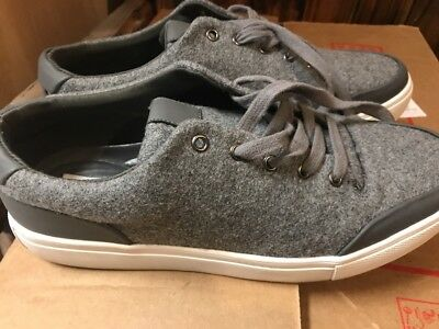 345b83894ca Steve Madden P Yasser Mens Gray Soft Cloth Memory Foam Sneakers 9M New With  Box