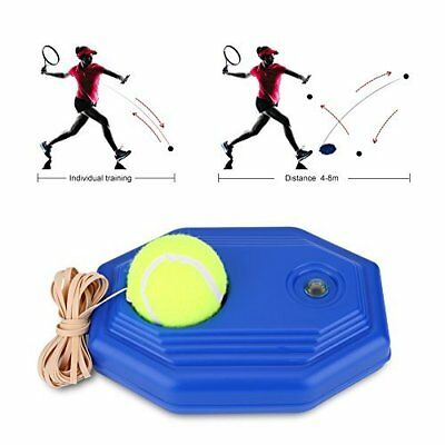 Tennis Ball Training Base with A Rope Self-study Tennis Rebound Player