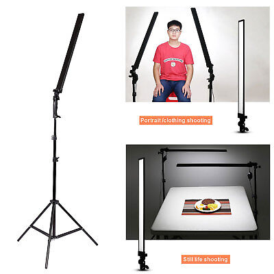LED 30W Photo Studio Video Dimmable Lighting handheld Light Softbox + 2M Stand