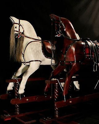Handcrafted Wooden Rocking Horses/Ponies