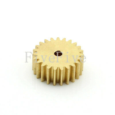 0.5M23T 23 Tooth 2/3/4/5/6mm Bore Hole Width 5 Module 0.5 Motor  Metal Spur Gear