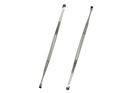 Double Ended Ear Cleaner Stainless Steel Wax Curette Removal Ear Cleaning Tool