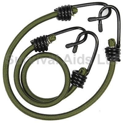 Olive Green 18 inch Bungees x 2