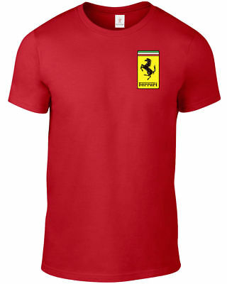 Ferrari T Shirt F1 Motostort Supercars Plus Sizes S-5Xl Tee M1.3
