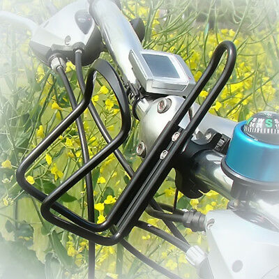 New Motorcycle Bicycle Cycle Handlebar Cup Can Water Bottle Drink Holder Cage hr