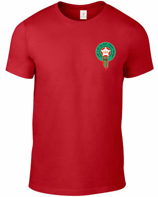 Morocco World Cup 2018 T Shirt Football Soccer Plus Sizes S-5Xl Tee F29.1