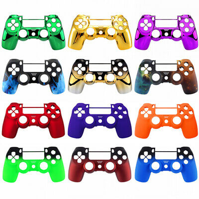 Soft Touch PS4 Controller Faceplate, Front Shell For Dualshock 4 V2 Controller