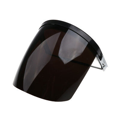 Protective Face Shield Clear Visor Welding Cooking Garden Cutting Grey