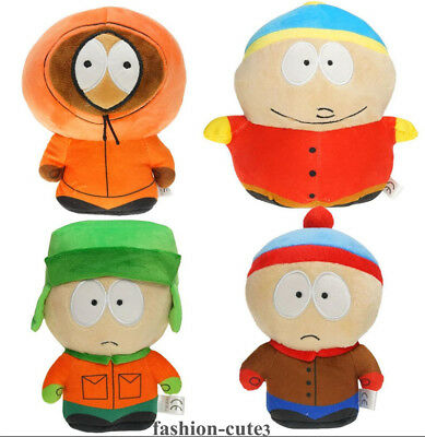 """New South Park Stuffed Soft Plush Toy Doll  Kyle Stan Cartman Kenny 7"""" Gift"""
