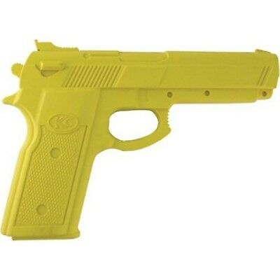 "Master Cutlery 3200YL Yellow Rubber 7 Training Handgun"" New"
