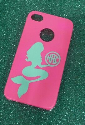 Cell Phone decals for hard cases. Initial monogram vinyl decals. New designs!