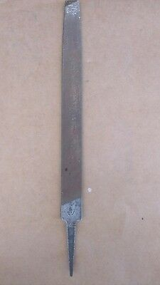 Collectible Wiltshire Australia Mill File Bastard Metal / Woodworking Old Tools