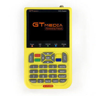 GTMEDIA V8 Finder Meter V-71 HD DVB-S2/S High Definition Satellite Finder Meter