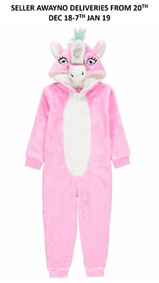 Girls RARE Unique UNICORN One piece All-in-One Loungewear All Ages 2 to 15YRs