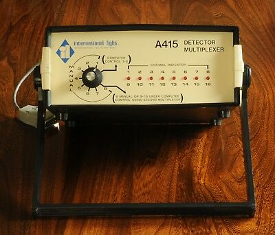 International Light Technologies A415 Detector Multiplexer Accepts SED Detectors