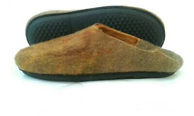 Merino Wool Slippers Gefilzte Hausschuhe Gr40-41 Wollpantoffeln Felted Slippers