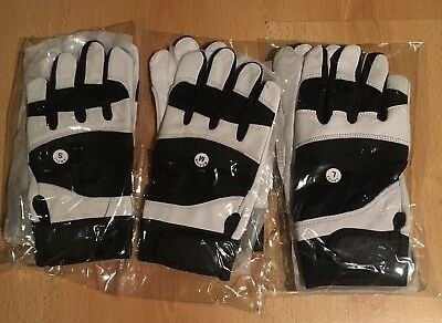 Baseball Batting Gloves - Premium Quality Leather Softball