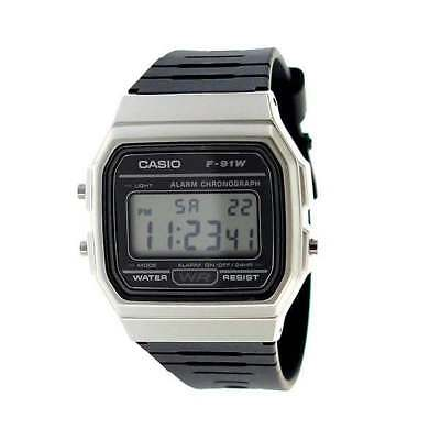 Casio F-91WM New Original Alarm Chronograph Classic Digital Rretro Watch F-91