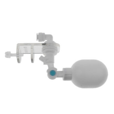 Blesiya Mini Adjustable Plastic Float Valve for Reverse Osmosis System White