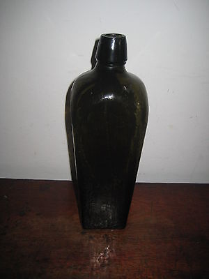 Glass Gin Bottle Mid To Late 19Th Century