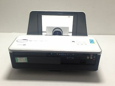 BenQ MX880UST DLP LCD PROJECTOR USED UNKNOWN LAMP HOURS SPOTTY PIXEL - REF S44