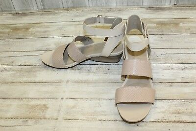 NATURALIZER GRACELYN LEATHER Wedge Sandals, Women's Size 8 M