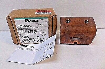 Panduit GUBC500-6 Universal Beam Grounding Clamp for #6 AWG – 500 kcmil