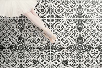AZAR Tile Stencil - Floor Wall Indian Stencil for Painting