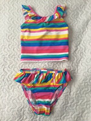447f8f977e501 M&S MARKS AND Spencer Baby Girls Swimming Costume Swimwear Size 18-24 Months  - £0.99 | PicClick UK