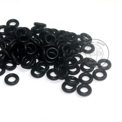 2~30MM Black Rubber Airtight O-Ring Gasket(Line diameter:1.0mm)