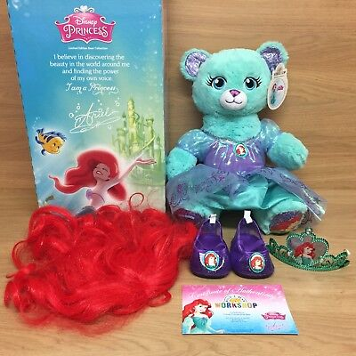 f4b67b66bd7 Build a Bear Workshop Limited Edition Disney Princess Ariel With Sound -  BABW