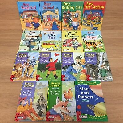 Ladybird Book Bundle - 15x Books - Read it Yourself, Busy, and Little Stories