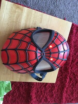 Spiderman Light Up Mask By Hasbro