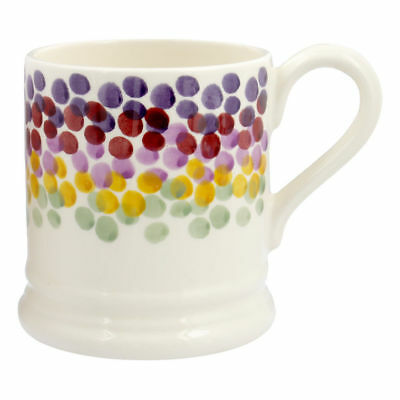 Emma Bridgewater Rainbow Dots Half Pint Mug NEW