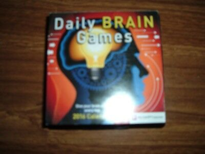 New Happy Neuron 2016 Daily Brain Games Calendar Give Your Brain a Lift Everyday