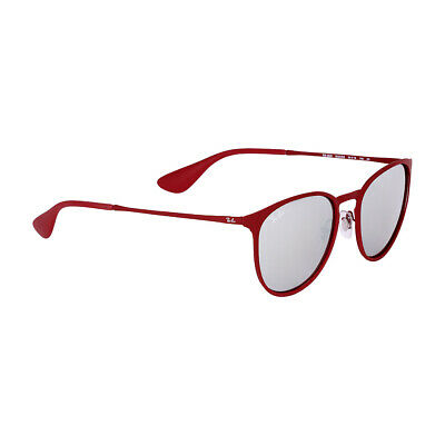 a767607670c RAY-BAN ERIKA METAL Frame Pink Silver Lens Unisex Sunglasses RB3539 ...