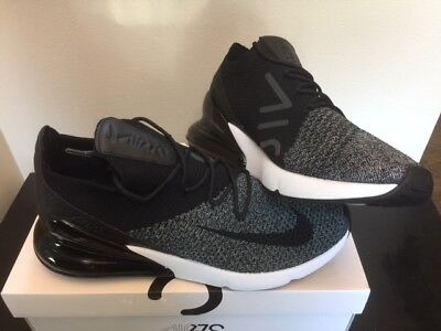 buy popular 3a364 f9d84 NIKE AIR MAX 270 Flyknit Black White Oreo AO1023-001 New DS