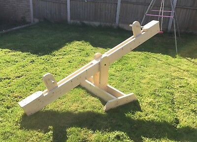 Childrens Wooden Seesaw