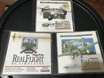 Great Planes RealFlight Simulator G1 plus Add-ons 3 and 5