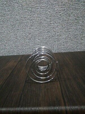 Kitchen-Metal-Spring-Wire Trays Egg Cup Boiled Eggs Holder of the USSR