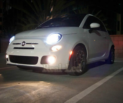 2x Bulbs H7 LED Headlight Low Beam 72W White 6500K Smart Fortwo 451 2007-2014