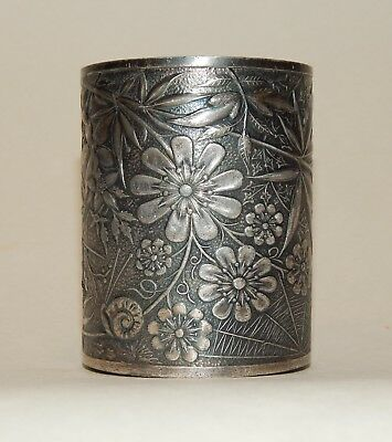 Aesthetic Movement Pairpoint Silverplate Decorative Cup