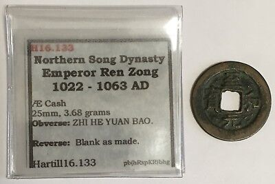 1022-1063 A.D. China Northern Song Dynasty Cash Coin Hartill 16.133 (L590)